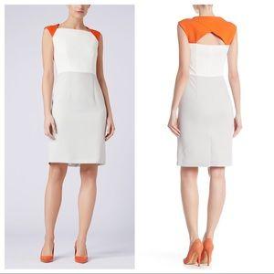HUGO BOSS Dekala Colorblock Sheath Dress